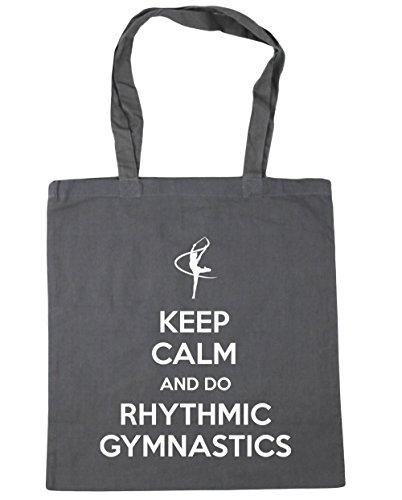 Gym Calm Shopping and 42cm Do Bag Gymnastics litres Tote Graphite 10 x38cm Grey Beach HippoWarehouse Keep Rhythmic Gymnast 5qwnFz