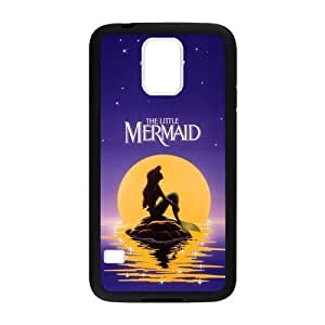 The Little Mermaid Cover Case Pattern Hard Case Cover for Samsung Galaxy S5 I9600