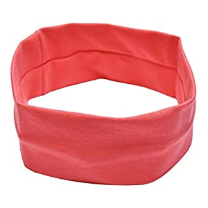 Tenworld Women Girl Yoga Elastic Turban Hair Band Stretch Headband