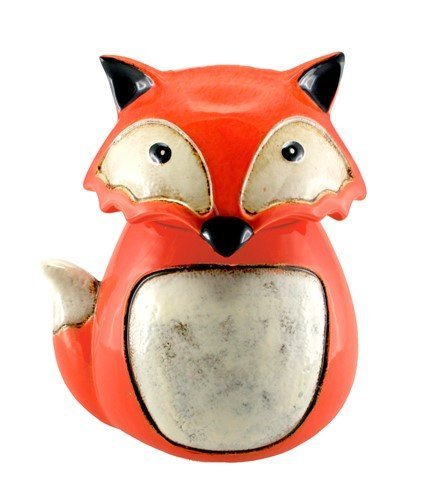 Animal Cookie Jar -Sly Fox Ceramic Animal Cookie Jar