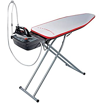 Leifheit Air Active L Steam Ironing System with Iron, Ironing Board and Integrated Steam