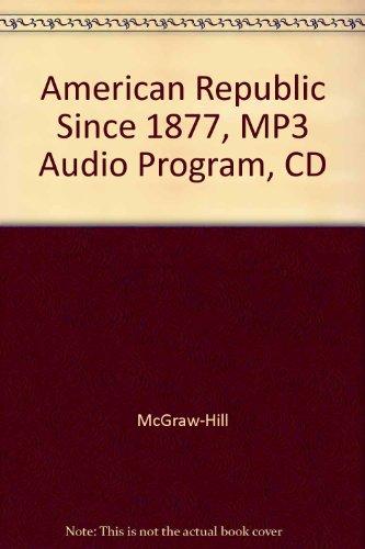 American Republic Since 1877, MP3 Audio Program, CD