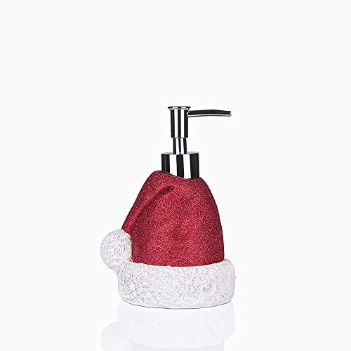 Greendisplay Santa Cap Soap/Lotion Dispenser