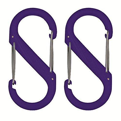 nite-ize-sbp0-2pk-23-s-biner-plastic-size-0-double-gated-carabiner-purple-2-pack