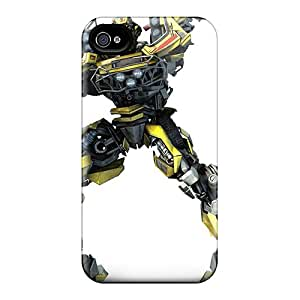 JessieHValdez Scratch-free Phone Case For Iphone 4/4s- Retail Packaging - Transformers Hd Wallpaper 96