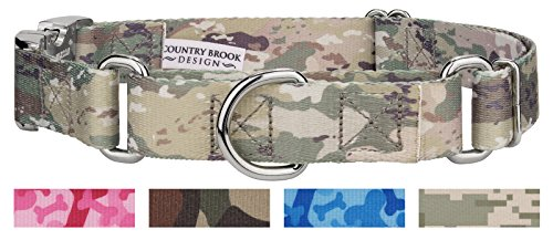 Country Brook Design Mountain Viper Camo Martingale with Premium Buckle - Large
