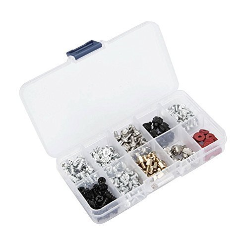 228pcs Personal Computer Screws & Standoffs Set Assortment Kit for Mother Board
