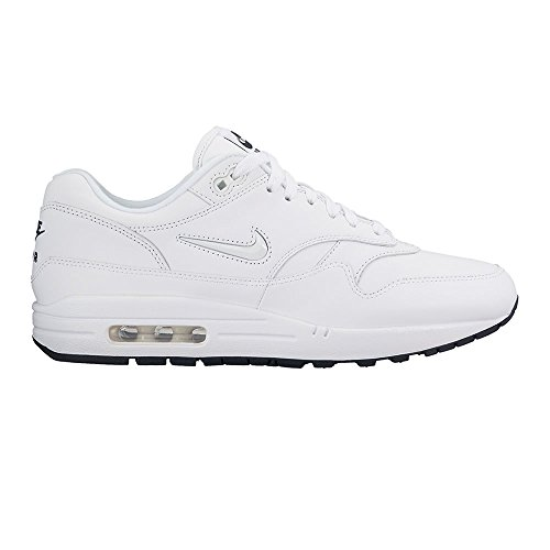 Nike Air Max 1 Jewell Premium SC White-Dark Obsidian - 44 EU