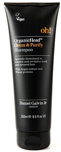 (Daniel Galvin Jr. OrganicHead Detox Shampoo - 8.5 oz. Nourish, Revitalize & Rehydrate Damaged Hair.)