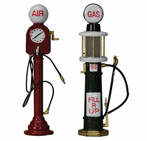 Expert choice for christmas village accessories gas pumps
