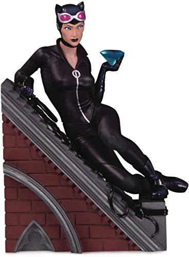 DC Collectibles Villains Multi-Part Statue: Catwoman, Multicolor, Model:JUN190624
