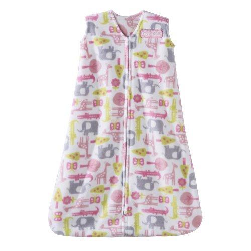 Halo SleepSack Micro-Fleece Wearable Blanket, Jungle Trees, Medium