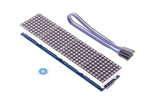 SMAKN® MAX7219 Dot Matrix Module 4 in one for Arduino (Max7219 Dot Matrix Module compare prices)