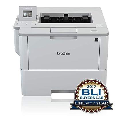 Brother HL-L6300DW - Impresora láser Profesional Monocromo (Bandeja 520 Hojas, 46 ppm, USB 2.0, Memoria de 256 MB, Doble Cara automática, Ethernet, ...