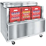Nor-Lake AR122WVS/0-A Open Front Milk Cooler-AR122WVS/0-A