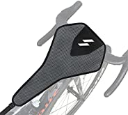 Bike Sweat Guard, Bicycle Trainer Frame Protector Absorbs Sweat Prevent Bicycle from Corrosion, Bicycle Traine