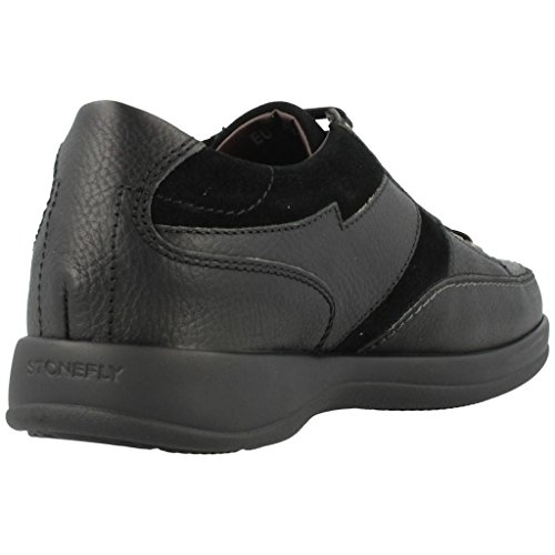 Stonefly Casual Shoes for Men, Colour Black, Brand, Model Casual Shoes for Men Season III Gore 3 Black Black