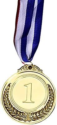 LDENG Gold Silver Bronze Award Medals Children Medal Winner Reward Badge Kids Game Prize Metal Olympic Style A