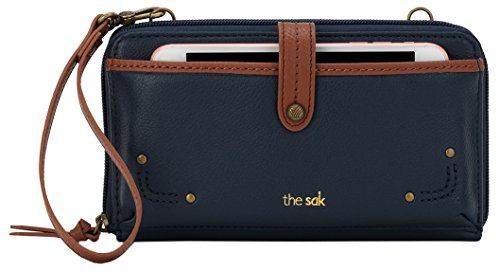 The Sak Iris Large Smartphone Crossbody (Indigo) by The Sak
