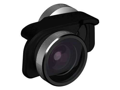 olloclip 4-IN-1 Lens for iPhone SE: Lens: Silver / Clip: Black + Colored Pendants OC-0000209-EU