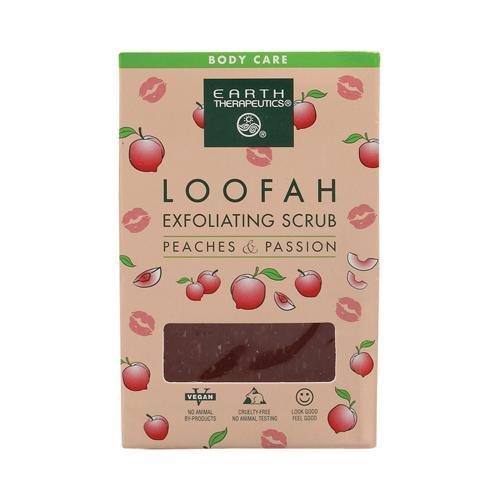 Peach Exfoliating Soap (Earth Therapeutics Loofah Exfoliating Bar Soap Peaches and Passion -- 4.2 oz)
