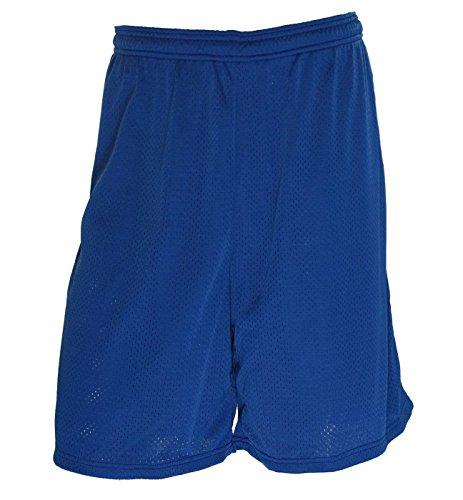 (Wilson Men's Mesh No Pocket Athletic Shorts Royal X-Large)