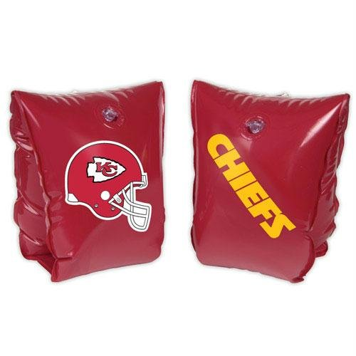 NFL Ages 3-6 Years Inflatable Water Wing NFL Team: Kansas City Chiefs