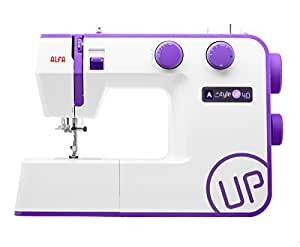 Alfa STYLE UP 40 - Máquina de coser, color morado