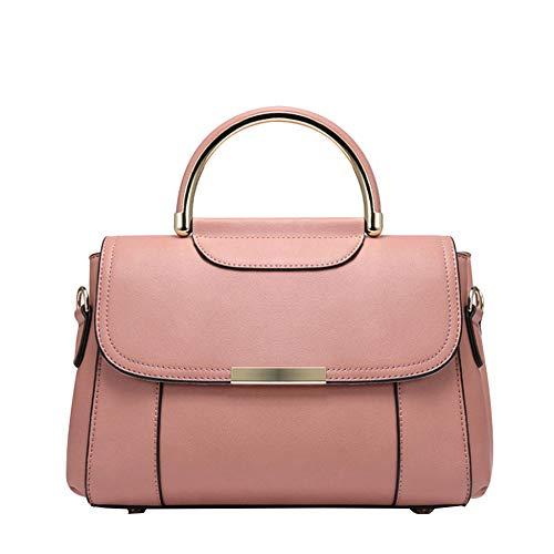 Moda Donna In Pu Tracolla A Borsa Pink 67wqX1S