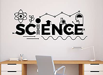 Amazon.com: Science Wall Decal School Education Vinyl Sticker ...