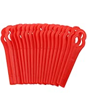 100 STKS Gazon Trimmer Mes Plastic Vervangmes voor FRT18A FRT18A1 Art 46155 FRT20A1 Accessoires