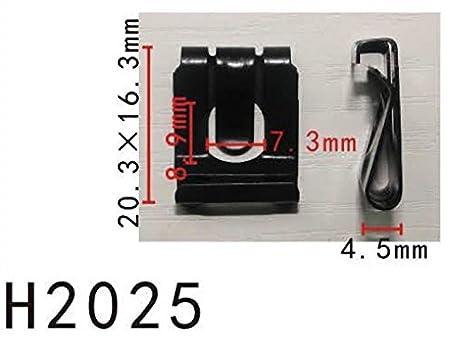 Retenedor de clip en U del pedal del embrague del panel del cuerpo (modelo PF