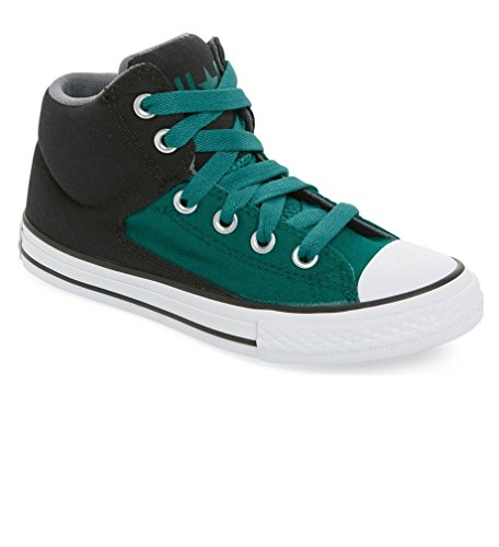 Converse Unisex Schuhe Sneaker Chuck Taylor All Star grün schwarz *** 651785F *** High Street Low Top