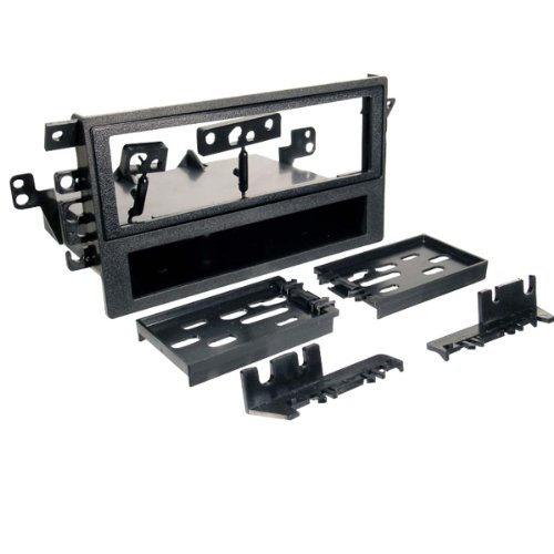 SCOSCHE GMT2049A Single or Double DIN Car Stereo Install Kit Compatible with SELECT 1992-Up GM and 1992-2008 Honda, Izuzu, Suzuki & Toyota Vehicles