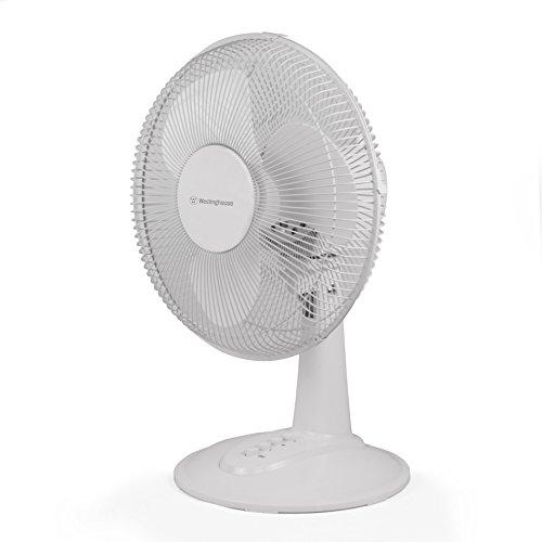 Westinghouse 3 Speed Table Top Desk Fan - 12 Inch