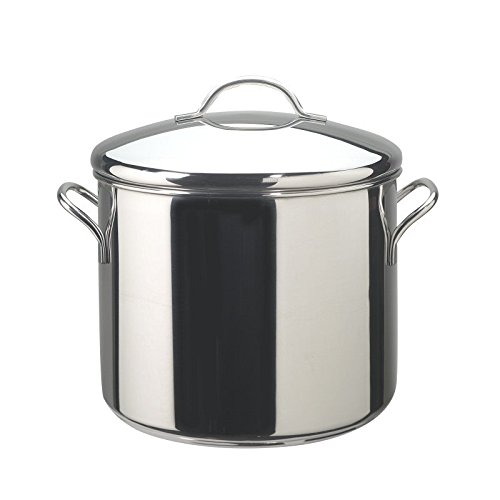 Pemberly Row Stainless Steel 12qt Stockpot