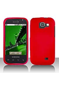 Samsung M920 Transform Rubberized Shield Hard Case - Red
