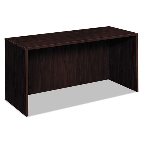 basyx by HON BL Laminate Series Credenza Shell - Desk Shell for Office, 60w x 24d x 29h, Mahogany (HBL2123) by basyx by HON