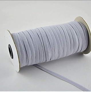 EBHRDFFA 3mm Wide Elastic Bands White Walking Elastic Band 1 Bundle Elastic