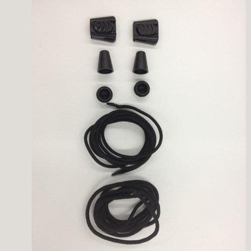 Shimano MT44 Cordones, Negro, Única