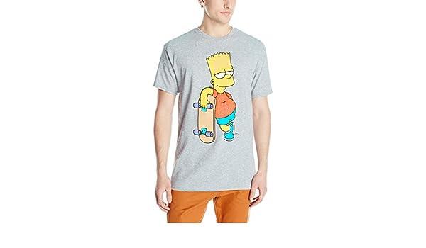 Simpsons Bart & Skateboard T-Shirt 2X: Amazon.es: Ropa y ...