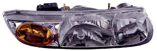 (Depo 335-1111R-AS Saturn S-Series Passenger Side Replacement Headlight Assembly)