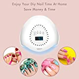 Gel UV LED Nail Lamp, 168W Nail Dryer Fast Dry For