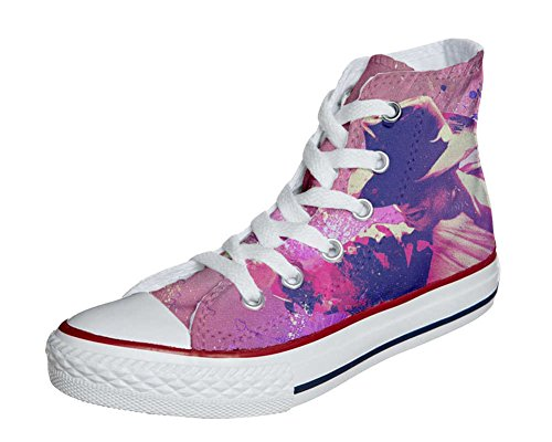 Converse Customized Adulte - chaussures coutume (produit artisanal) Michael Jackson Style