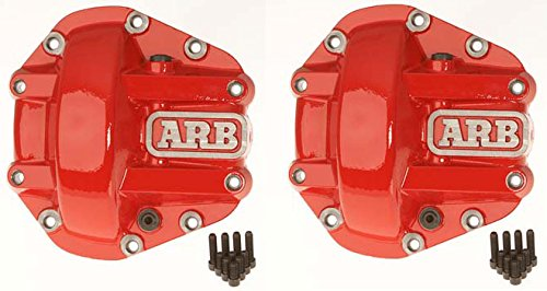 ARB Dana 44 Differential Cover Combo - Includes Pair of ARB 0750003 Dana 44 Differential Covers