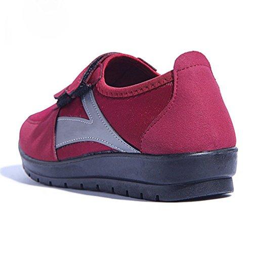 JITIAN Zapatillas de Material Deporte Sint de RTqRz