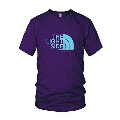 The Light Side - Herren T-Shirt, Größe: M, Farbe: lila