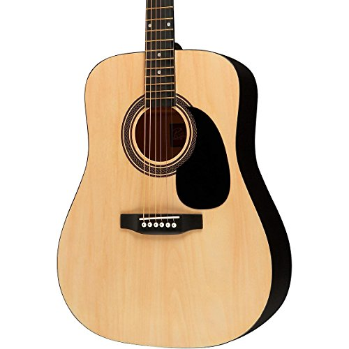 Rogue RA-090 Dreadnought Acoustic Guitar Natural (Best Mid Range Acoustic Guitar)
