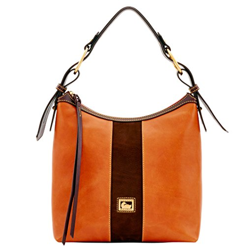Dooney & Bourke Leather Hobo Bag - Dooney & Bourke Florentine Maya Hobo Natural