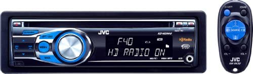 JVC KD-HDR40 CD Receiver with Built-In HD ... - Amazon.com on